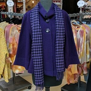 Sandro Wool Button Front Coat